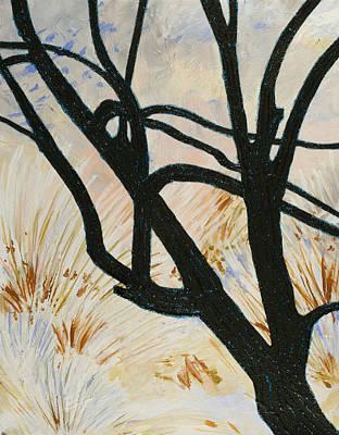 Painting - Winterswept by Julianne Hunter
