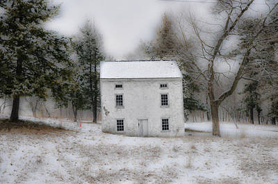 Valley Photograph - Wintertime In Valley Forge by Bill Cannon