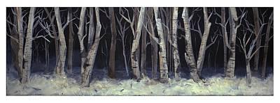 Winterwoods Art Print