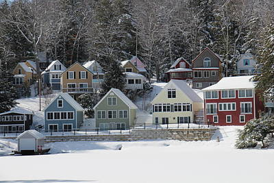 Photograph - Wintery Alton Bay Nh by Jeffery Akerson