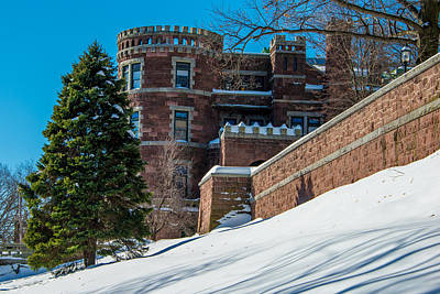 Photograph - Wintery Lambert Castle by Anthony Sacco