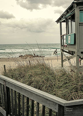 Photograph - Wintry Beach Day by Julie Palencia