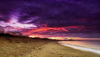 Photograph - Wintry Sunset by Jean-Noel Nicolas