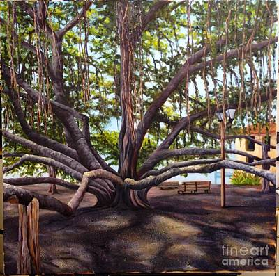 Painting - Wip Banyan Tree 7 by Darice Machel McGuire