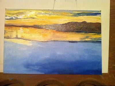 Painting - Wip Different Views 2of4-foundation by Mary Ellen Anderson