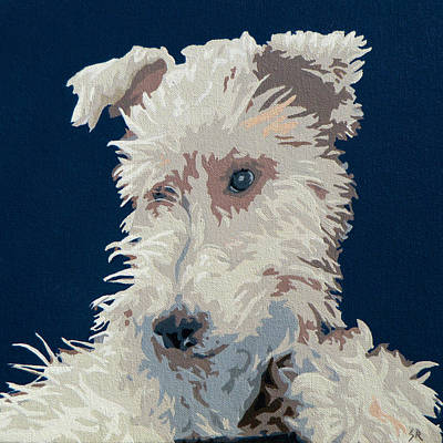 Painting - Wire Fox Terrier by Slade Roberts