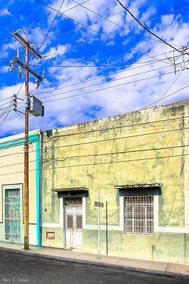 Photograph - Wired For Electricity In Mexico by Mark E Tisdale