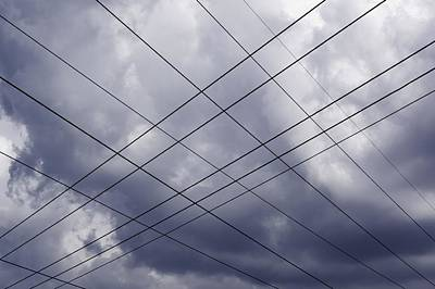 Photograph - Wired Sky by Milan Surkala