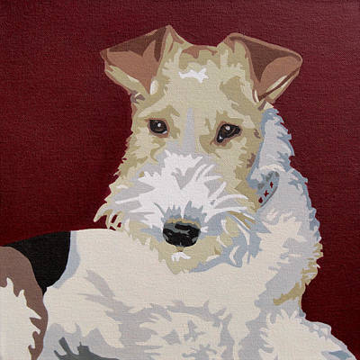 Wirehaired Fox Terrier Art Print by Slade Roberts