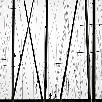 Minimalism Photograph - Wires by Carlo Cafferini