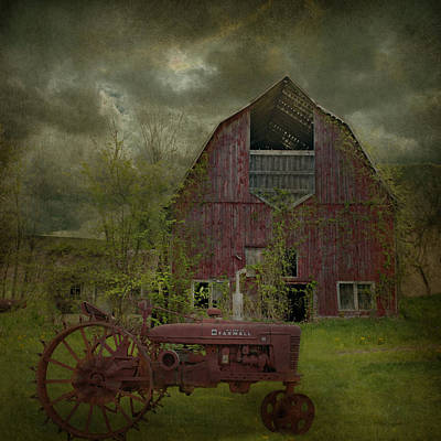 Wisconsin Barn 3 Art Print by Jeff Burgess
