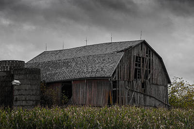 Wisconsin Barn Print by Joseph Smith