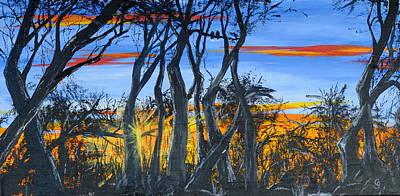Modern Feathers Art - Wisconsin Creek Spooks by Cheryl Nancy Ann Gordon