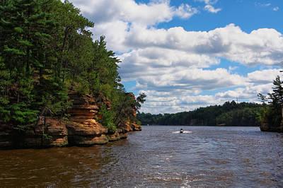 Photograph - Wisconsin Dells Jetski by Lars Lentz