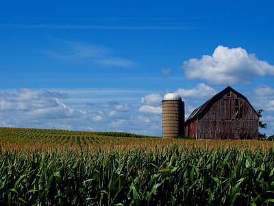 Photograph - Wisconsin Farmland by Griffin Harris