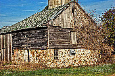 Photograph - Wisconsin Old Barn 7 by Ms Judi