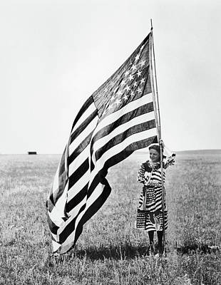 Photograph - Wisconsin Patriotism by Granger