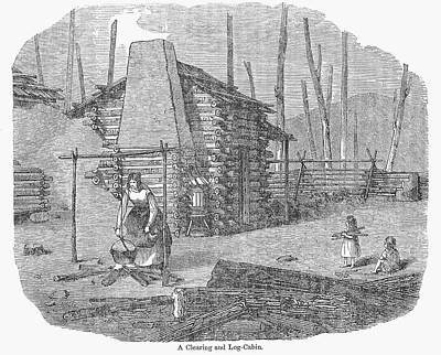 Cauldron Painting - Wisconsin Pioneer's Home by Granger