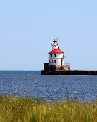 Photograph - Wisconsin Point Lighthouse by George Jones