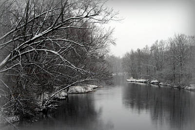 Photograph - Wisconsin River by Kay Novy