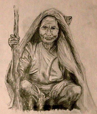 Wisdom Art Print by Kelci Pauk