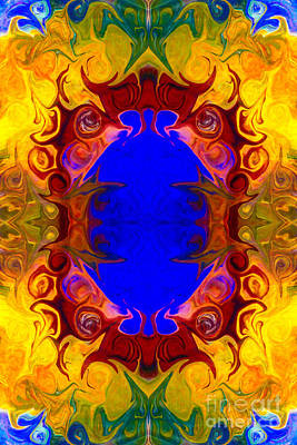 Painting - Wisdom Of The Ages Abstract Patterned Artwork By Omaste Witkowski by Omaste Witkowski