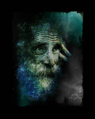 Pearls Of Wisdom Digital Art - Wisdom Of The Stars by Absinthe Art By Michelle LeAnn Scott