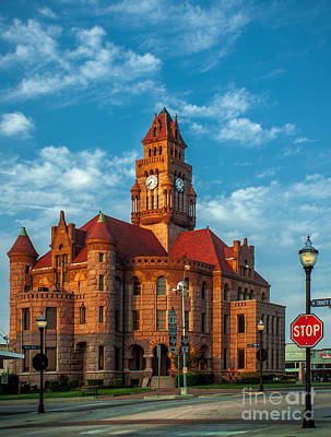 Wise County Courthouse Art Print by Robert Frederick