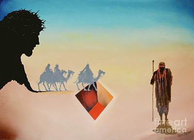 Wise Men Still Seek Him Art Print by Peter Olsen