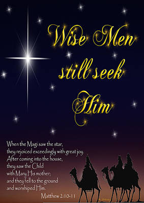 Photograph - Wise Men Still Seek Him by Robyn Stacey