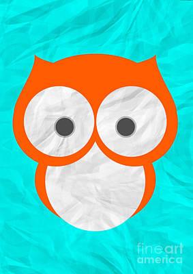 Wise Owl Art Print by Henrietta Buwalda