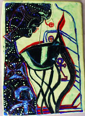Beloved Saviour Ceramic Art - Wise Virgin by Gloria Ssali