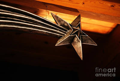 Sterling Silver Photograph - Wish Upon A Shooting Star by Linda Shafer