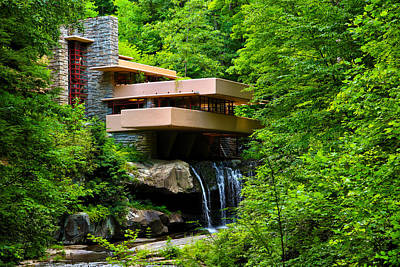 Wishes On Fallingwater Too Art Print by Rachel Cohen