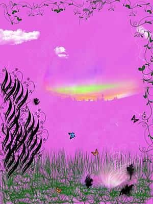 Digital Art - Wishes by Rhonda Barrett