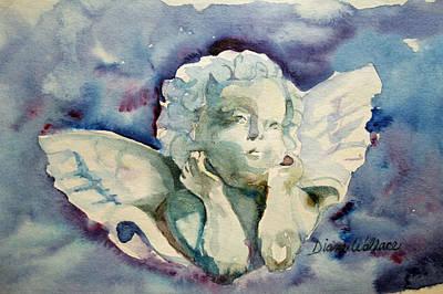 Wishful Thinking Painting - Wishful Thinking by Diane Wallace