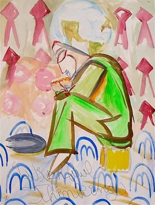 Wishful Thinking Painting - Wishful Thinking by Troy Thomas