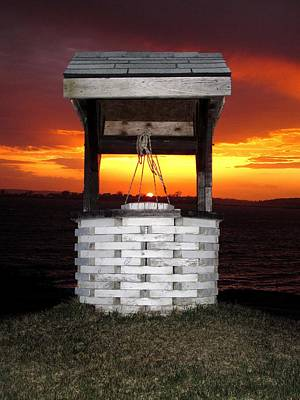 04003 Photograph - Wishing Well by Donnie Freeman
