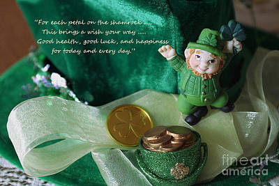 Photograph - Wishing You A Happy St. Patricks Day by Living Color Photography Lorraine Lynch