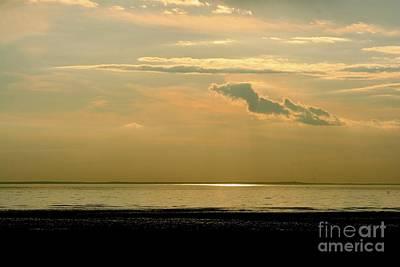 Wispy Sunset Art Print by Jim Gillen