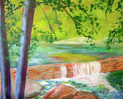 Phillies Art Painting - Wissahickon by Marita McVeigh