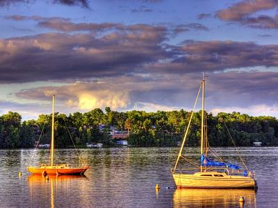 Photograph - Wissota Marina by Larry Capra