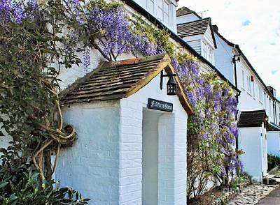 Photograph - Wisteria Cottage by Katy Mei
