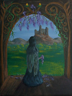 Painting - Wistful by Dawn Blair