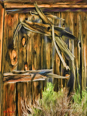Photograph - Wit Hard Bodie Door by Blake Richards