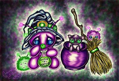 Witch-o-matik Art Print by Coriander  Shea