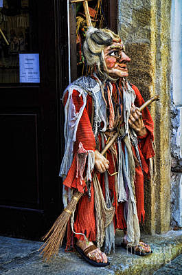 Photograph - Witch Of Prague by Brenda Kean