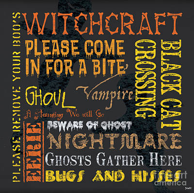 Witchcraft Art Print by Debbie DeWitt