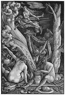 Mysticism Painting - Witches' Sabbath, 1514 by Granger