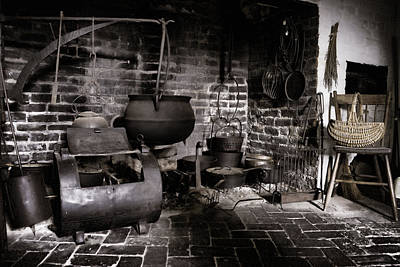 Photograph - Witch's Kitchen by Sharon Popek